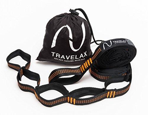 Travelax Befestigung Hängematte mit 11 Schlaufen verstellbar
