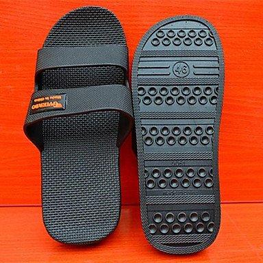 Stivali inverno delle donnecasuali zeppa piuma Heel PU sandali US14 / EU48 / UK13 / CN51