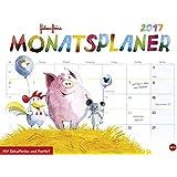 Helme Heine Monatsplaner - Kalender 2017