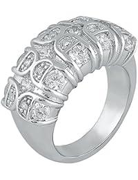 Shaze Zircon Studded Band Ring for Women Rings for Women Stylish | Ring for Girlfriend