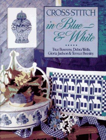 Cross-Stitch in Blue & White -