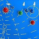 Astronomia Sistema Solare Astrale Nove Pianeti Mappa Di Legno Montessori Giocattoli Educativi Scientifici