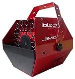 Ibiza LBM10-RE Seifenblasenmaschine, Rot