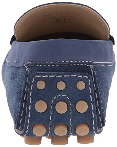 ECCO - Dynamic Moc Men's, Mocassini Uomo Blu(Denim Blue/Denim Blue/Bermuda Blue 59740)
