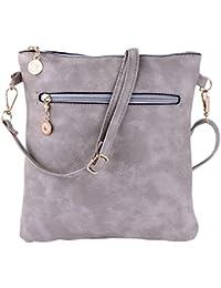 Jokereader Casual Women Hollow Shoulder Crossbody Bags Girls Zipper  Messenger Wallet Change Coin Purse Phone Backpack cfa6f28e7c65f