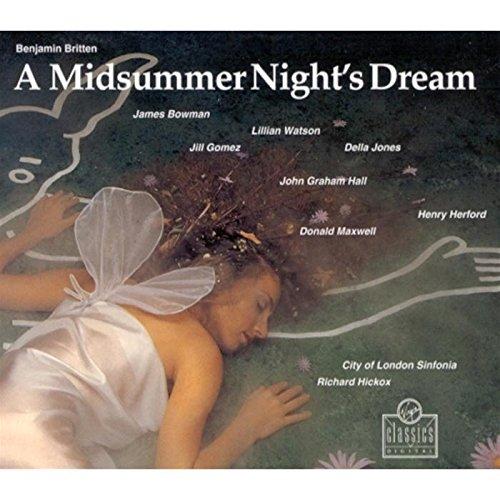 Benjamin Britten: A Midsummer Night's Dream (Oper) (Gesamtaufnahme) (2 CD)