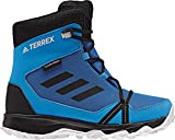 adidas Unisex-Kinder Terrex Snow CP Climawarm Trekking-& Wanderstiefel, Blau (Belazu/Negbás/Griuno 000), 36 EU