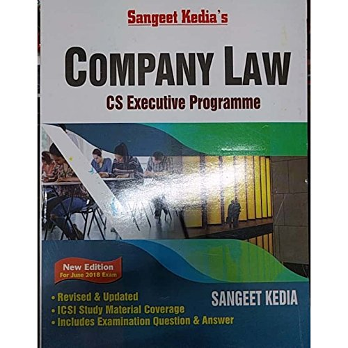 SANGEET KEDIA'S COMPANY LAW (JUNE 18 EXAMS)