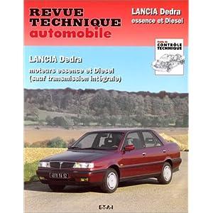 Revue Technique Automobile, N° 535.3 : Lancia Dedra