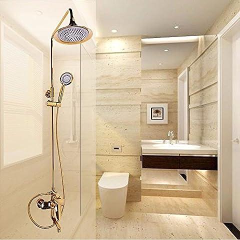 SAEJJ-High Quality Titanium Oxide Shower Suit All Copper Top Quality Shower Set