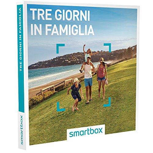 Smartbox cofanetto regalo - tre giorni in famiglia - prodotto esclusivo web