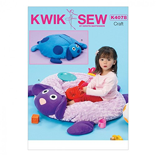 Kwik Sew Kinder Schnittmuster 4078Lamm & Hund Ball Pit Boden Kissen + Frei Minerva Crafts Craft Guide (Pit Ball Hund)