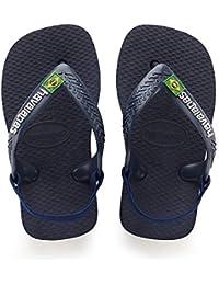 af070019d78a Havaianas Unisex Babies  Brasil Logo II Flip Flops
