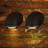 Vintage Wandleuchten LED Erleuchtung Eisen 4W Lampenschirm Wandlampe Innen Schlafzimmer Bett (Gr??e 13 * 16 cm)