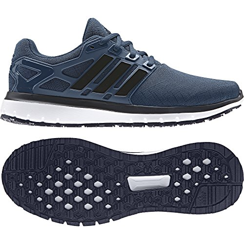 sports shoes 9b655 796c4 Adidas Uomo Nuvola Di Energia M Scarpe Da Corsa Blu Notte