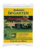 Rasendünger mit Moosvernichter 15 kg für ca. 420 m²