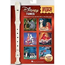 Disney Tunes: Recorder Fun!: Noten, Sammelband für Blockflöte