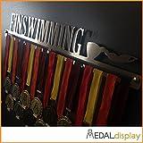 MedalDisplay - Soporte para medallas de ciclismo / Medallero de pared., 600mm x 100mm x 3mm