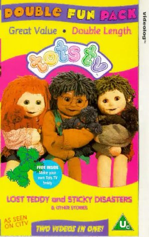 Tots TV - Lost Teddy Sticky Disasters [VHS]