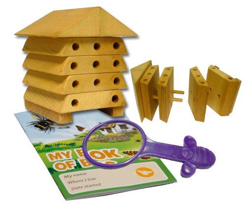 Wildlife World MSBH1 Minibug Bienenstock für Einzelbienen
