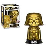 Funko - - Pop! - Star Wars: Darth Vader - Wackelkopf Figur, Gold, 9 cm