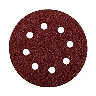 KWB Quick-Stick Schleifscheiben, Holz und Metall, selbsthaftend, Durchmesser 125 mm, gelocht, 5419-12