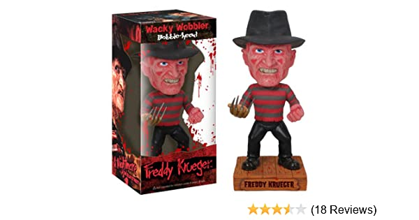 Wacky Wobbler Friday the13th Freddy Krueger Vinyl Action Figure Doll Bobble head