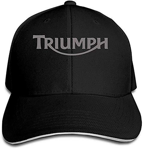 YDeamoon Motorcycle Triumph Logo Baseball Sandwich Cap Navy