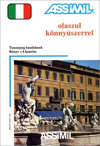 Olaszul könnyuszerrel (1 livre + coffret de 4 cassettes) (en hongrois)