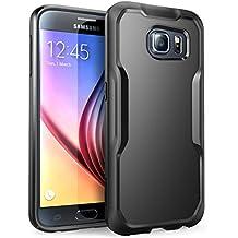 Samsung Galaxy S6 Gehäuse, SUPCASE Unicorn Beetle Serie Premium-Hybrid Protective Hülle für Samsung Galaxy S6 (Schwarz)
