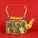 #9: Aluminium Tea Kettle Designer Tea Pot - 1000ml