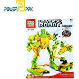 Powerpak Legao Model Universe Robot - Artillery - Building Blocks 3D Puzzle Educational Toy For Ages 6+ (99 Pieces) - Assemble Them Into Robots, Cars, Planes, And Other Different Models