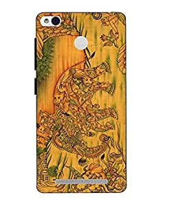 Snazzy Printed Multicolor Hard Back Cover For Xiaomi Redmi 3S