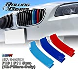 Rolling Gears F10 M-Colour Kidney Grill Stripe Cover Cap (12 Bars) , 5-Layer Painted