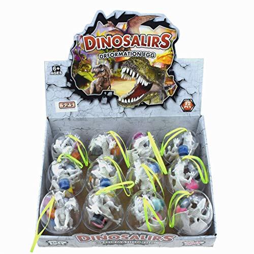 Mitlfuny Kawaii Langsam Dekompression Creme Duftenden Groß Squishy Spielzeug Squeeze Spielzeug,Dinosaurier-Eier Dekorieren Sie Ihre eigenen Dinosaurier-Figuren 12 Arten (Mortal Kombat Kostüme Für Frauen)