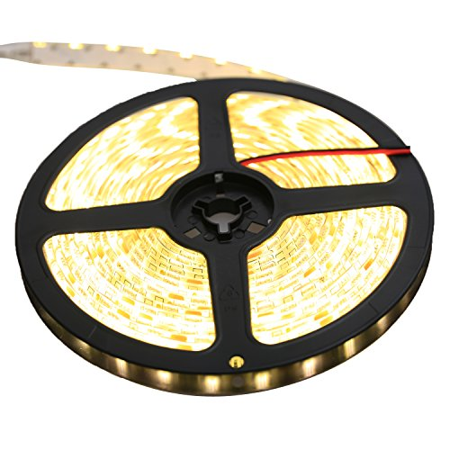 LEADSTAR 5M 300 LEDs 5050 Flexible LED Strip Licht Streifen 12V IP65 Wasserdicht - Warmweiß