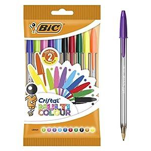 BIC Cristal Multicolour Bolígrafos Punta