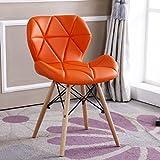 AJZXHE Computer Stuhl Einfache Bürostuhl Kreative Verhandlung Stuhl Esstisch Stuhl Konferenzstuhl Rückenlehne Stuhl (Farbe : B)