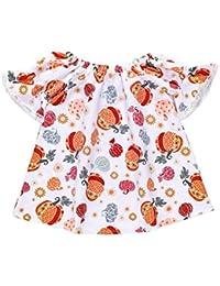 Vestido de niña recién nacido de calabaza Vestido de niña de halloween Toddler Infantil
