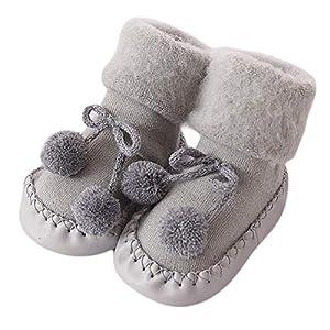 Unisex-Baby Socken Hüttenschuh Baby schönen Herbst Winter warme weiche...