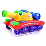 Best GENERIC Kids Birthday Gifts - New 2017 Musical Crazy Tank Toy with Bump Review