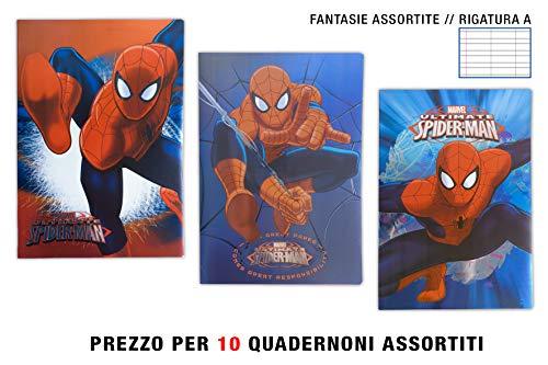 Maxi Spiderman metal Luxe línea a (1 – 2 deberes)
