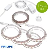 Philips Hue Light Strips Plus 6 Meter (1 x 2m + 4 x 1m)