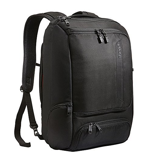 eBags Laptop-Rucksack TLS Professional Slim (Tiefschwarz)