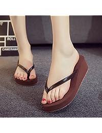 XIAMUO Koreanischen Sommer neuen Stil Original handgemachte Blume am Meer Flip-Flip Sandalen Flip Flop Sandalen...
