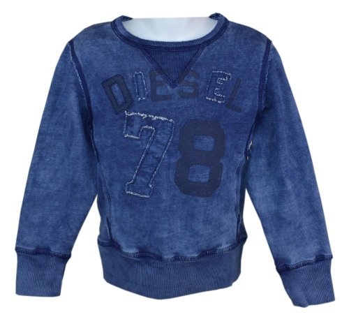 Diesel Long Sleeve Sweater (Diesel Kids | Blaues Sweatshirt