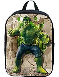 9ed7a55727 Iron Man Capitano Americano Gigante Verde Zaino Per Bambini Per Ragazzi  Zaini Per Borse Scuola Per