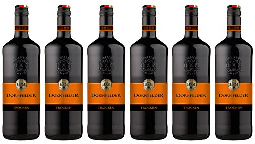 HXM - Dornfelder - Qualitätswein Rheinhessen - Rotwein Trocken (6 x 1 l)