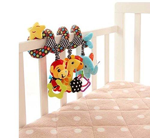 Preisvergleich Produktbild Singring Spirale Aktivität Kinderwagen Baby Plüschtiere Kleinkindspielzeug Spielzeugauto Drehmaschine hängenden Niedlichen kleine Star Spielzeug