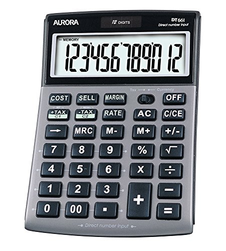 Aurora DT661 Business Calculator (With Cost Sell Margin and Tax)